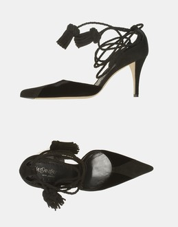More information or Buy online WOMAN - YSL  RIVE GAUCHE - FOOTWEAR - CLOSED-TOE SLIP-ONS  - AT YOOX