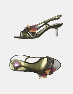More information or Buy online WOMAN - BLAY - FOOTWEAR - HIGH-HEELED SANDALS - AT YOOX