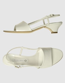 More information or Buy online WOMAN - MARTINI OSVALDO - FOOTWEAR - HIGH-HEELED SANDALS - AT YOOX