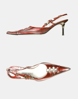 More information or Buy online WOMAN - LUCIANO PADOVAN - FOOTWEAR - SLINGBACKS - AT YOOX