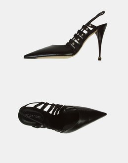 More information or Buy online WOMAN - SERGIO ROSSI - FOOTWEAR - SLINGBACKS - AT YOOX