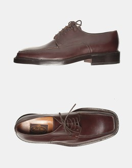 More information or Buy online MAN - FRATELLI PELUSO - FOOTWEAR - LACED SHOES - AT YOOX
