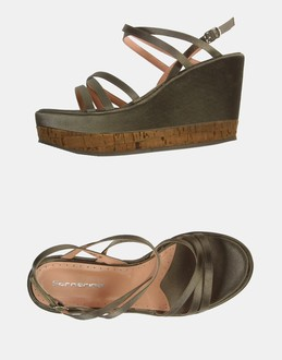 More information or Buy online WOMAN - FORNARINA - FOOTWEAR - HIGH-HEELED SANDALS - AT YOOX