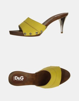 More information or Buy online WOMAN - D&G - FOOTWEAR - HIGH-HEELED SANDALS - AT YOOX
