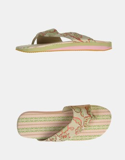 More information or Buy online WOMAN - CUSTO BARCELONA - FOOTWEAR - FLIP FLOPS - AT YOOX