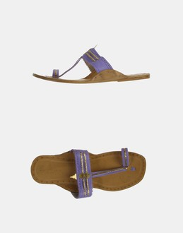 More information or Buy online WOMAN - LEAVES OF GRASS - FOOTWEAR - FLIP FLOPS - AT YOOX