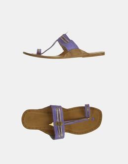 More information or Buy online WOMAN - LEAVES OF GRASS - FOOTWEAR - FLIP FLOPS - AT YOOX