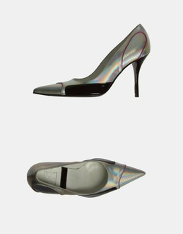 More information or Buy online WOMAN - STRATEGIA - FOOTWEAR - CLOSED-TOE SLIP-ONS  - AT YOOX