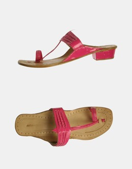 More information or Buy online WOMAN - ANTIK BATIK - FOOTWEAR - FLIP FLOPS - AT YOOX