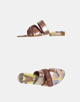 More information or Buy online WOMAN - JUST CAVALLI - FOOTWEAR - SANDALS - AT YOOX