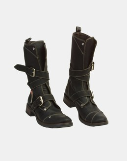 More information or Buy online WOMAN - MISS SIXTY - FOOTWEAR - COMBAT BOOTS - AT YOOX