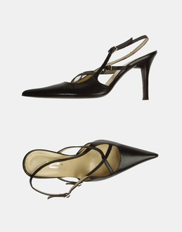 More information or Buy online WOMAN - SEGNI&SENSI - FOOTWEAR - SLINGBACKS - AT YOOX