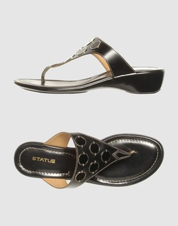 More information or Buy online WOMAN - STATUS - FOOTWEAR - FLIP FLOPS - AT YOOX