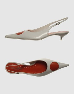 More information or Buy online WOMAN - ALTERNATIVA - FOOTWEAR - SLINGBACKS - AT YOOX