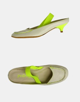 More information or Buy online WOMAN - PEDRO GARCIA - FOOTWEAR - SLINGBACKS - AT YOOX