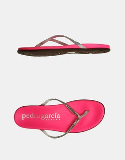 More information or Buy online WOMAN - PEDRO GARCIA - FOOTWEAR - FLIP FLOPS - AT YOOX