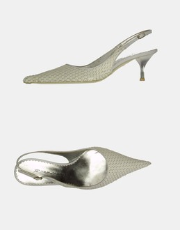More information or Buy online WOMAN - GREY MER - FOOTWEAR - SLINGBACKS - AT YOOX