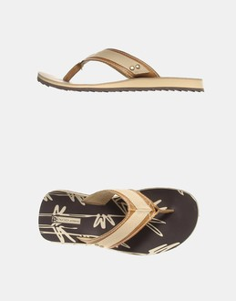 More information or Buy online MAN - N.O.D. ATHLETIC - FOOTWEAR - FLIP FLOPS - AT YOOX