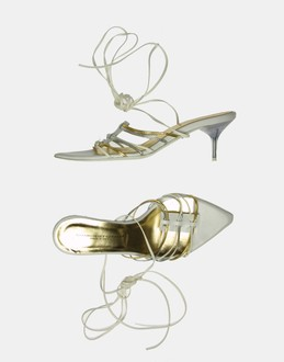 More information or Buy online WOMAN - SIMBOLIEFORME - FOOTWEAR - HIGH-HEELED SANDALS - AT YOOX