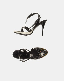 More information or Buy online WOMAN - CASADEI - FOOTWEAR - HIGH-HEELED SANDALS - AT YOOX
