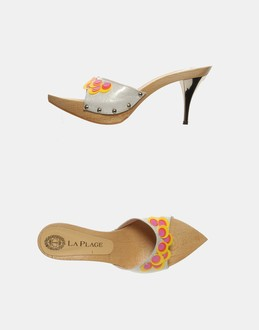 More information or Buy online WOMAN - LA PLAGE - FOOTWEAR - HIGH-HEELED SANDALS - AT YOOX