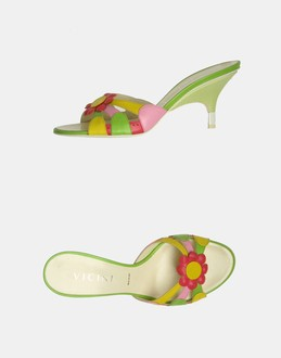 More information or Buy online WOMAN - VICINI - FOOTWEAR - HIGH-HEELED SANDALS - AT YOOX