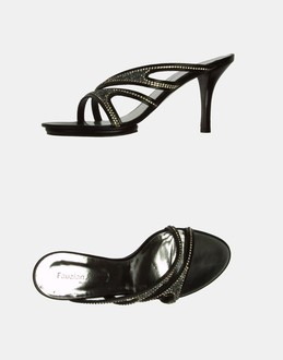 More information or Buy online WOMAN - FAUZIAN JEUNESSE' - FOOTWEAR - HIGH-HEELED SANDALS - AT YOOX