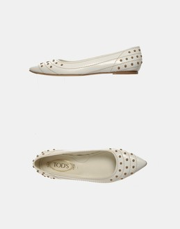 More information or Buy online WOMAN - TOD'S - FOOTWEAR - CLOSED-TOE SLIP-ONS  - AT YOOX