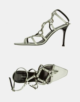 More information or Buy online WOMAN - CESARE CATINI - FOOTWEAR - HIGH-HEELED SANDALS - AT YOOX