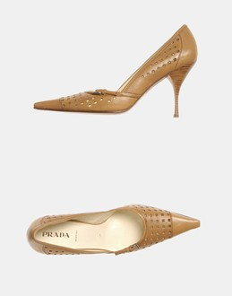 More information or Buy online WOMAN - PRADA - FOOTWEAR - CLOSED-TOE SLIP-ONS  - AT YOOX
