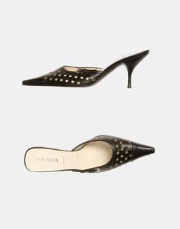 More information or Buy online WOMAN - PRADA - FOOTWEAR - MULES - AT YOOX