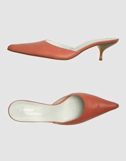 More information or Buy online WOMAN - VALERIO VALENTINI - FOOTWEAR - MULES - AT YOOX