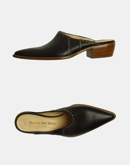 More information or Buy online WOMAN - DUCCIO DEL DUCA - FOOTWEAR - MULES - AT YOOX