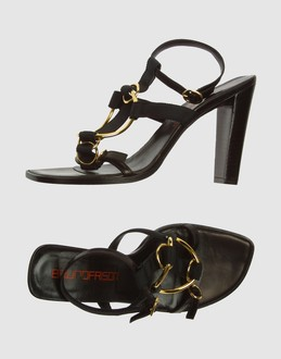 More information or Buy online WOMAN - BRUNO FRISONI - FOOTWEAR - HIGH-HEELED SANDALS - AT YOOX