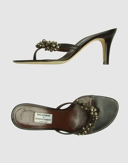 More information or Buy online WOMAN - PHILOSOPHY di A. F. - FOOTWEAR - HIGH-HEELED SANDALS - AT YOOX