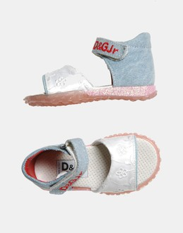 More information or Buy online GIRL - D&amp;G JUNIOR - FOOTWEAR - SANDALS - AT YOOX