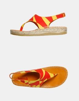 More information or Buy online WOMAN - JOCOMOMOLA DE SYBILLA - FOOTWEAR - FLIP FLOPS - AT YOOX