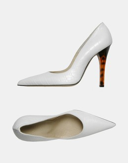 More information or Buy online WOMAN - VERSACE - FOOTWEAR - CLOSED-TOE SLIP-ONS  - AT YOOX