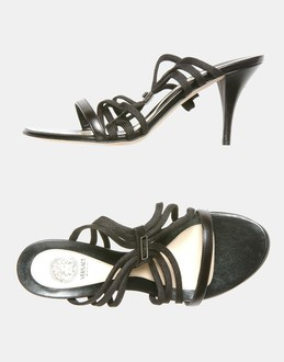 More information or Buy online WOMAN - VERSACE - FOOTWEAR - HIGH-HEELED SANDALS - AT YOOX