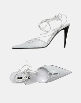 More information or Buy online WOMAN - MARIO BOLOGNA - FOOTWEAR - SLINGBACKS - AT YOOX