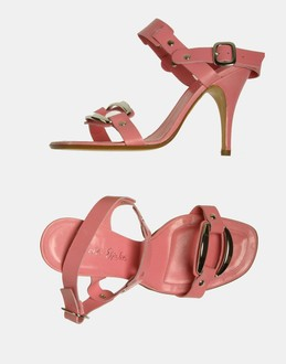 More information or Buy online WOMAN - ERNESTO ESPOSITO - FOOTWEAR - HIGH-HEELED SANDALS - AT YOOX