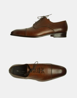 More information or Buy online MAN - MAX VERRE NEAPOLIS - FOOTWEAR - LACED SHOES - AT YOOX
