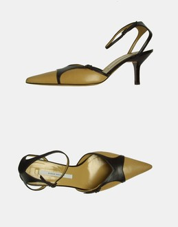More information or Buy online WOMAN - DIEGO DOLCINI - FOOTWEAR - SLINGBACKS - AT YOOX