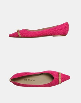 More information or Buy online WOMAN - LIZ CARINE - FOOTWEAR - BALLET FLATS - AT YOOX