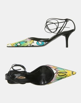 More information or Buy online WOMAN - LE SILLA - FOOTWEAR - SLINGBACKS - AT YOOX