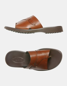 More information or Buy online MAN - TOD'S - FOOTWEAR - FLIP FLOPS - AT YOOX