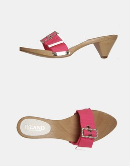 More information or Buy online WOMAN - ISLAND CELLE LIGURE - FOOTWEAR - HIGH-HEELED SANDALS - AT YOOX