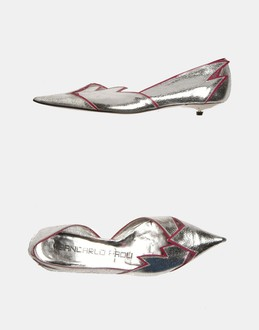 More information or Buy online WOMAN - GIANCARLO PAOLI - FOOTWEAR - CLOSED-TOE SLIP-ONS  - AT YOOX