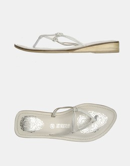 More information or Buy online WOMAN - ART NOUVEAU - FOOTWEAR - FLIP FLOPS - AT YOOX