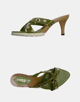 More information or Buy online WOMAN - DIBRERA BY PAOLO ZANOLI - FOOTWEAR - HIGH-HEELED SANDALS - AT YOOX